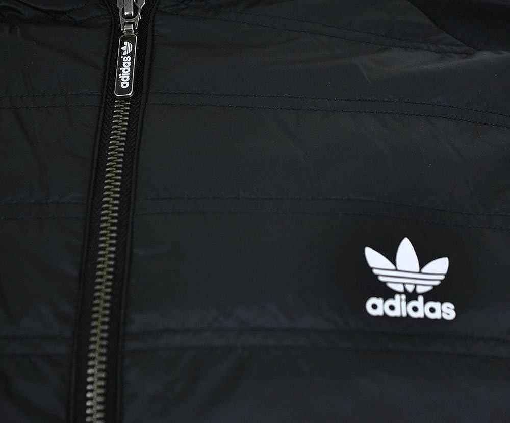 adidas SST TT Quilted Originals Trefoil Herren Primaloft Track Top Jacket Jacke Schwarz