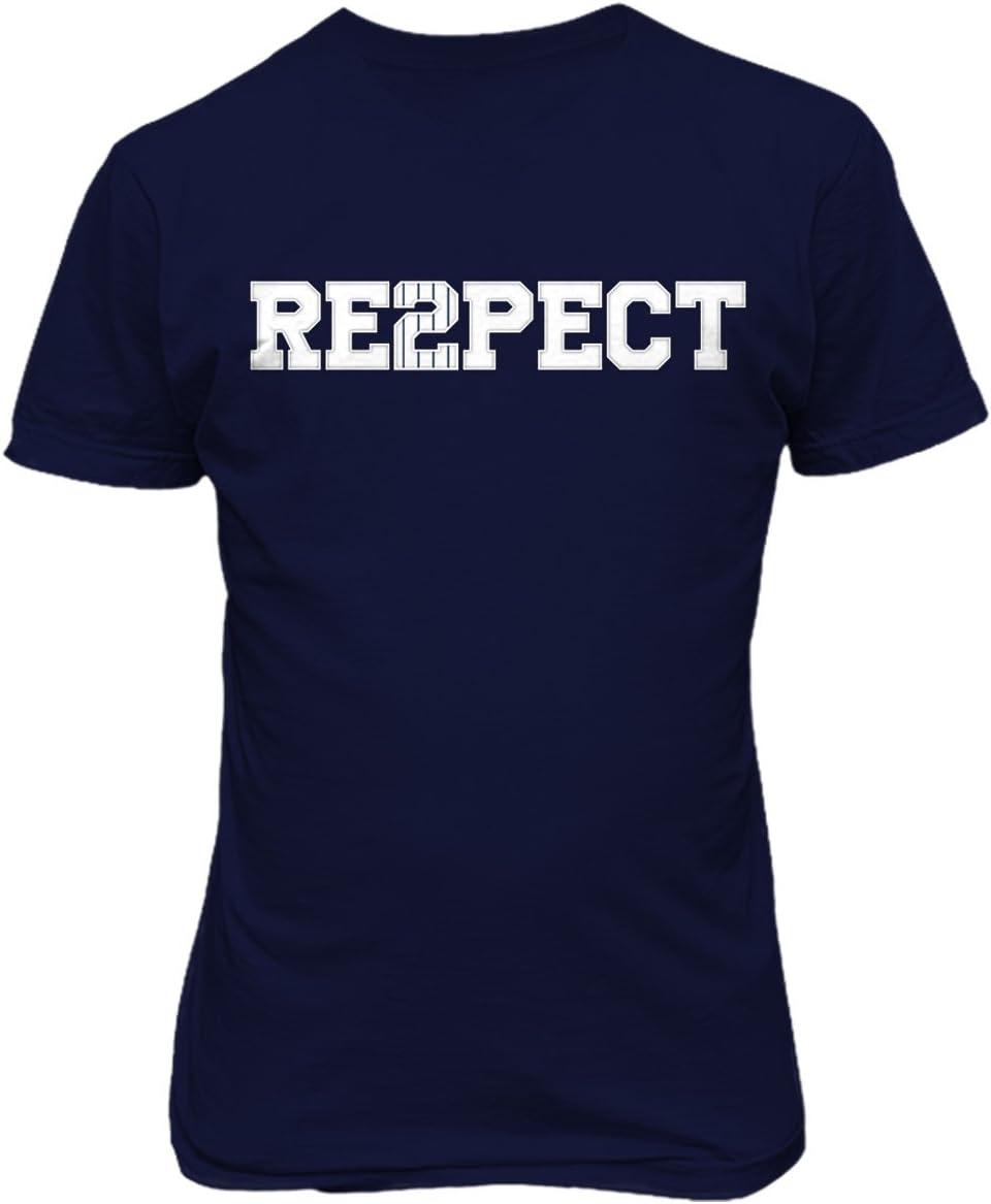 RESPECT DEREK JETER T-SHIRT Captain New York Yankees Retirement Re2pect 2 Shirt