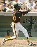 Autographed Dave Cash 8X10 San Diego Padres Photo