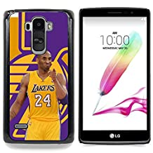 GREAT PHONE CASE GIFT // Mobile Phone Case Hard Case PC Derecative Cover Protective Case for LG G4 Stylus H540 /Lakers 24 Bryant Basketball Poster/