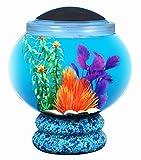 Kollercraft API Betta Kit Globe Pedestal Fish Tank, 1.6-Gallon