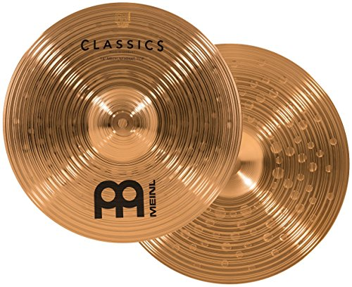 Meinl Cymbals C14MH Classics 14-Inch Traditional Medium Hi-Hat Cymbal Pair (Meinl Hi Hat Cymbals)