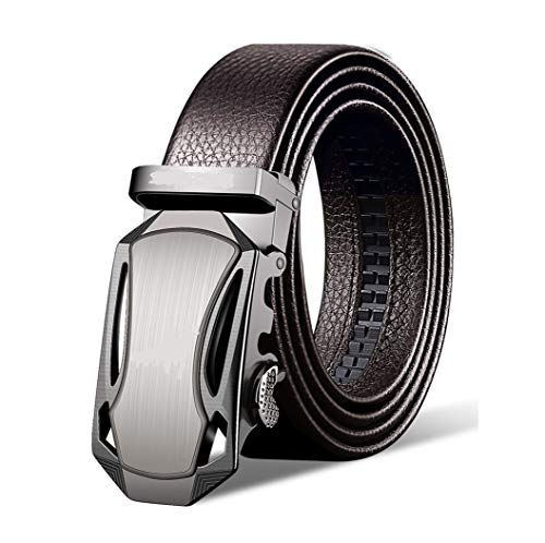New Italian Years Happy - Italian Cow Leather Belt Provides Unbelievable Adjustable Range from 10