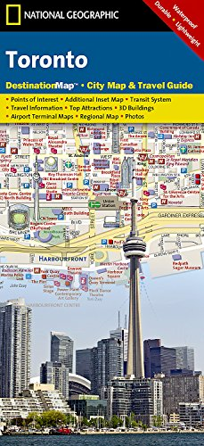 Toronto (National Geographic Destination City Map)