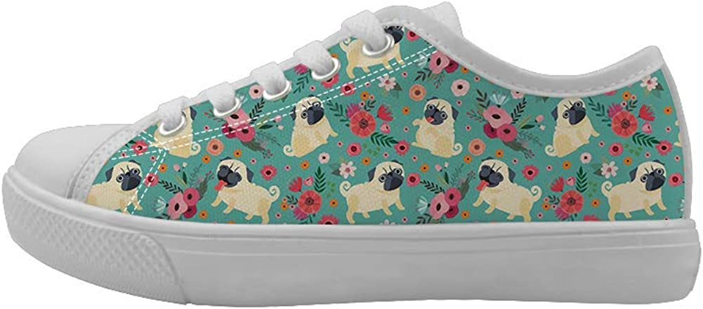 Canvas Low Top Sneaker Casual Skate Shoe Mens Womens Lovely Panda Bear Baby Playing Water Polo