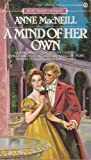 Front cover for the book A Mind of Her Own by Anne MacNeill