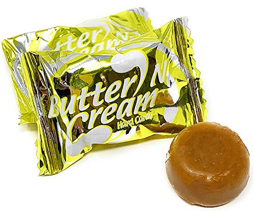 - Colombina Hard Candy Butter Toffee Wrapped Butter n Cream 3 pounds bag
