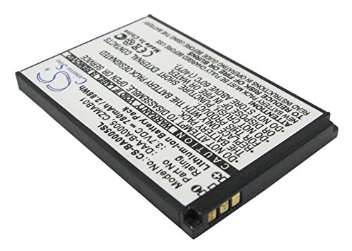 C & S 780mAh DAA-BA0005 Battery for Creative Zen Micro, Zen Micro Photo, Zen Micro 4GB, 5GB, 6GB