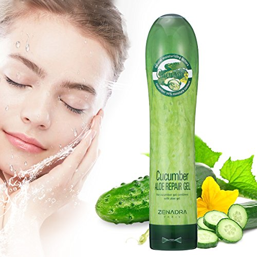 Soothing Cucumber (Phyto Tree Cucumber Gels, LuckyFine - 250ml Moisturizing Smooth Brightening Skin Gentle Without Irritation Comfortable For Sensitive Skin Nutrition Fit For Any Skin)