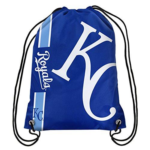 Royal Blue Drawstring Backpack - FOCO Kansas City Royals Big Logo Drawstring Backpack