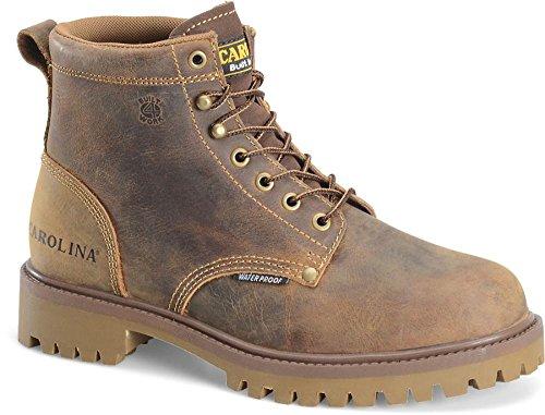 Carolina - Mens - 6 Inch ST Waterproof Boot Carolina Steel Toe Work Boot