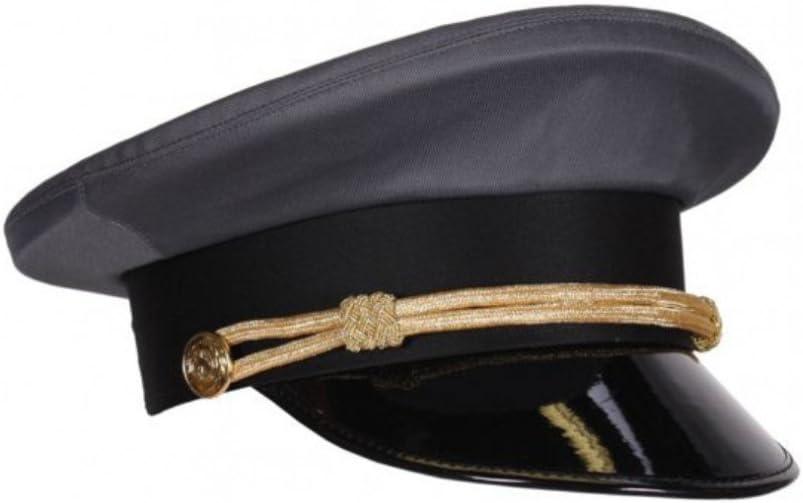 Tapa de chofer Gris, tamaño de Cabeza 59 y 61, Gorra de Conductor ...