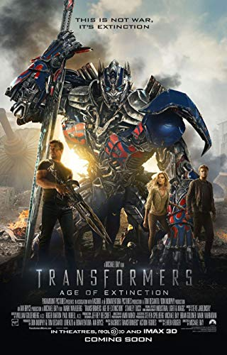 TRANSFORMERS AGE OF EXTINCTION MOVIE POSTER 2 Sided ORIGINAL INTL FINAL 27x40 ()