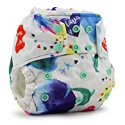 Rumparooz One Size Cloth Pocket Diaper - Snap - Lava