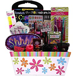 Diva & Proud - Valentine's Day Gift Basket for Girls