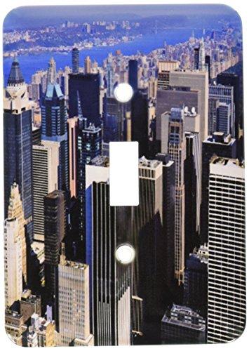 Manhatten 1 Light - 3dRose lsp_54157_1 Manhatten Mid Town New York Toggle Switch