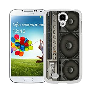 Awesome White S4 Case Boombox Samsung Galaxy S4 I9500 Case White Cover 1 by runtopwell
