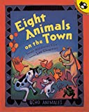 Eight Animals on the Town (Picture Puffin Books) (Spanish Edition)