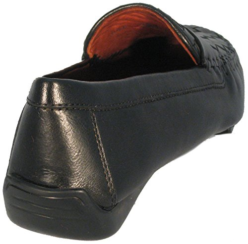 Zur Handcrafted Women's True in Black Moccasin Glove Leather 'Petra' Robert TFdPSxwqF