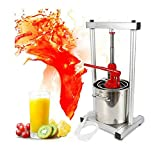 12L Fruit Press, Larger 304 Stainless Steel