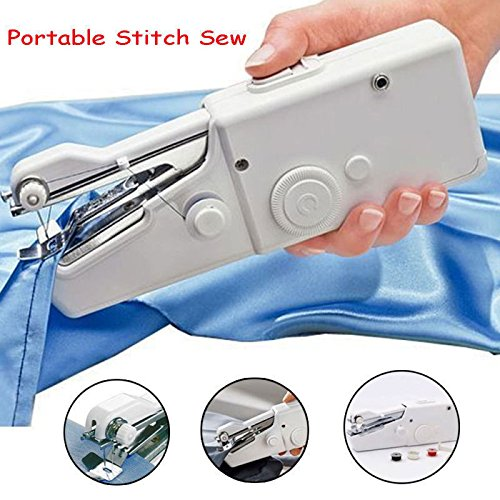 Portable Smart Electric Tailor Stitch Hand-held Sewing Machine Home Sewing - Cheapest Shopping India Online