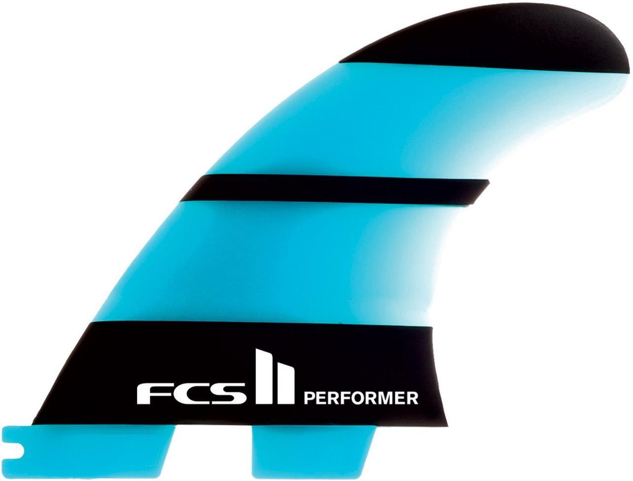 FCS II Performer Neo Glass Medium Tri Fins