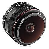 Best Canon Lenses For Portraits - Opteka 6.5mm f/2 HD MC Manual Focus Fisheye Review