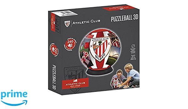 Athletic Club Bilbao Puzzleball Athletic Club (Tamaño Balón) 8,4 ...
