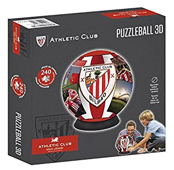Athletic Club Bilbao Puzzleball Athletic Club (Tamaño Balón) 8,4 ...