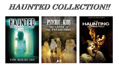 HAUNTED The Stuff that Screams are Made of ... 16 Spine-Tingling Ghost Stories, Psychic Kids Children of The Paranormal & The Haunting in -