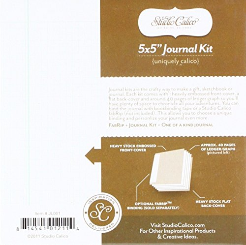 "Studio Calico American Crafts Classic 5 x 5"" Journal Kit,..."