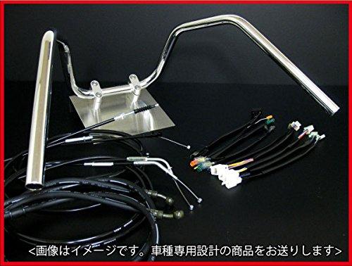 RZ250 アップハンドル セット 4L3/4UO 6ベント アップハン ブラックワイヤー B07DG46KKY