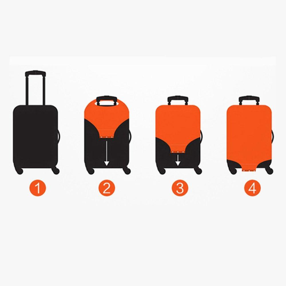 Solo Cubierta, Maleta no incluida BJ-SHOP Funda de Equipaje,Protector de Equipaje Funda de Equipaje de Viaje Elastico a Prueba de Polvo Carretilla Cubierta Protectora para 18-32 Pulgadas