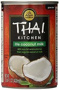 Thai Kitchen Pure Coconut Milk Lite, 13.66-Ounce Unit (Pack of 12)