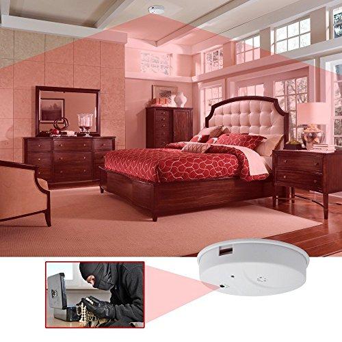 Indoor Hidden Camera Smoke Detector Full HD 1080P Motion Detection ...