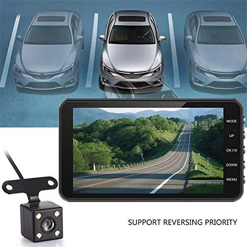 Car DVR Camera Recorder HD Night Vision Mini Car Data Recorder 170º HD Wide-Angle Lens 1080p HD Car DVR Dashboard Camera Recorder