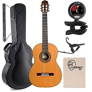 Amazon.com: Cordoba 45MR CD Acoustic Nylon String Acoustic ...