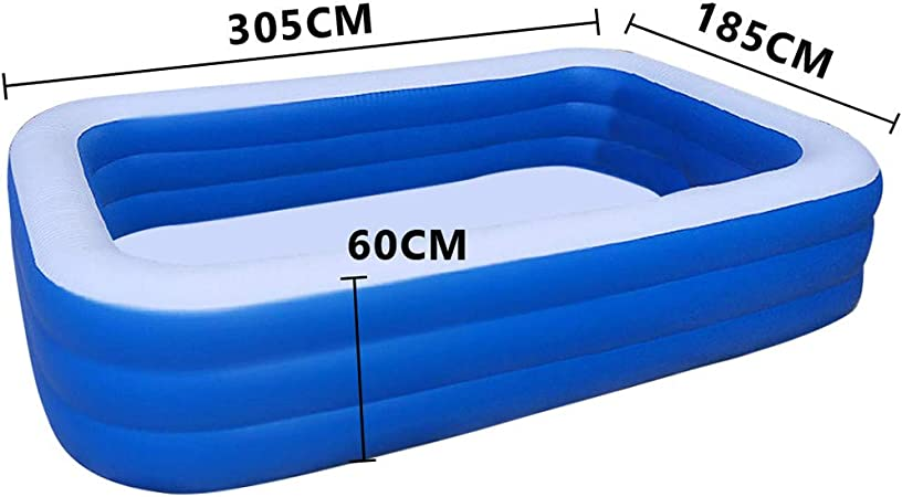 Backyard Garden Wear Resistant Thickened Swimming Pool For Outdoor Dewdropy Swim Center Family Inflatable Pool For Adults Kids Summer Water Party Swimming Pools Kolenik Full Sized Inflatable Pools