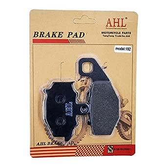 AHL - Pastillas de freno sinterizadas metálicas para Moto y ...