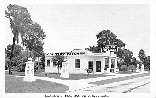 Lakeland Florida Country Kitchen Cottages Antique Postcard K95917