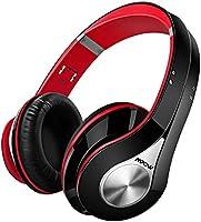 Mpow 059, Cascos Bluetooth para TV, Auriculares de Diadema Inalámbricos, Plegable con Micrófono Manos Libres y Hi-Fi Sonido Estéreo 20Horas Reproducción de Música para PC, Movil, Azul