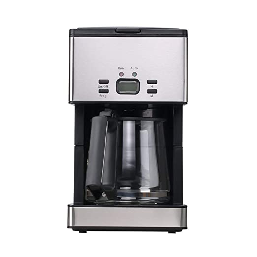 Power DOF Cafetera con una capacidad de 1,8 L/15 de tazas ...