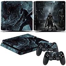 EBTY-Dreams Inc. - Sony Playstation 4 Slim (PS4 Slim) - Bloodborne Hunter Video Game Vinyl Skin Sticker Decal Protector