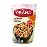 PRANA Organic Go Nuts Maple Coated Mixed Nuts with Real Maple Syrup, Vegan, Non-GMO, 8 x 150g