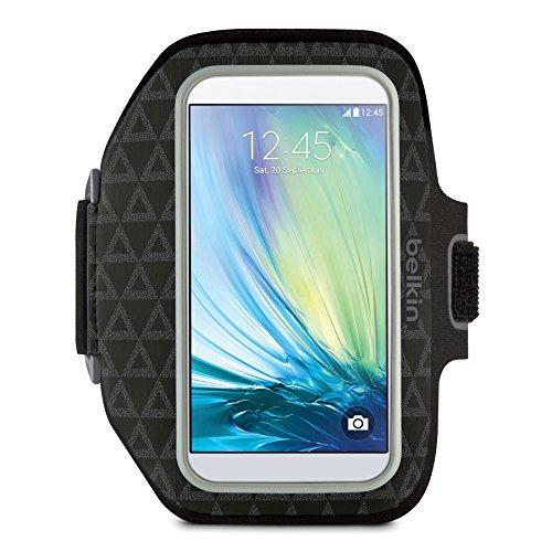 - Belkin Sport-Fit Plus Armband for Samsung Galaxy S6 (Black Triangle Pattern)