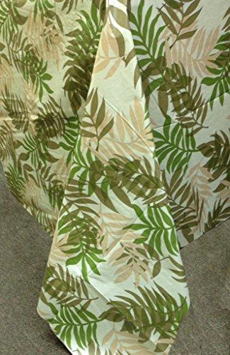 Elegant Fern Vinyl Tablecloth, 60