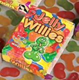 Adult Ladies Willie Shaped Jelly Sweets for Edible Willy Hen Party by Partypackage Ltd