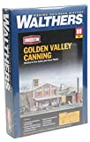Walthers Cornerstone HO Scale Golden Valley Canning Company Structure Kit