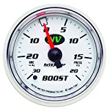 Auto Meter 7307 NV 2-1/16'' 30 in. Hg/20 PSI Mechanical Vacuum/Boost Gauge