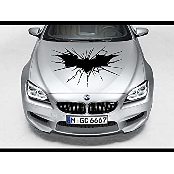 Amazon Com The Dark Knight Batman Hood Car Decal Race